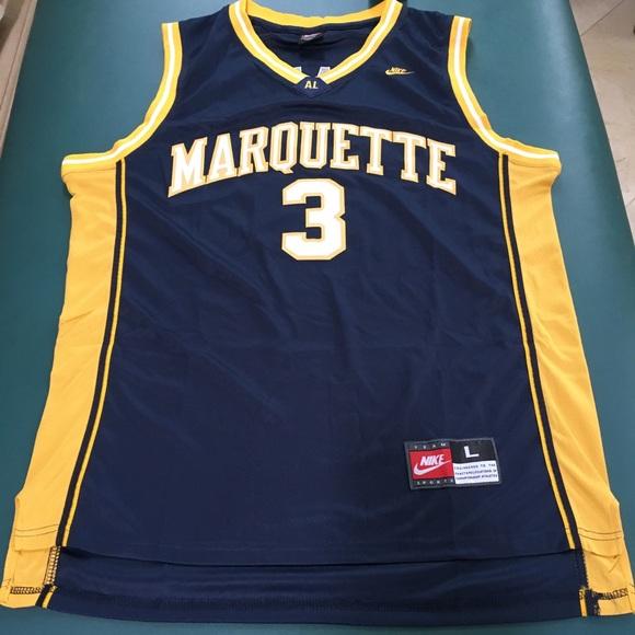wholesale dealer 7d957 31f97 Dwyane Wade Marquette Jersey